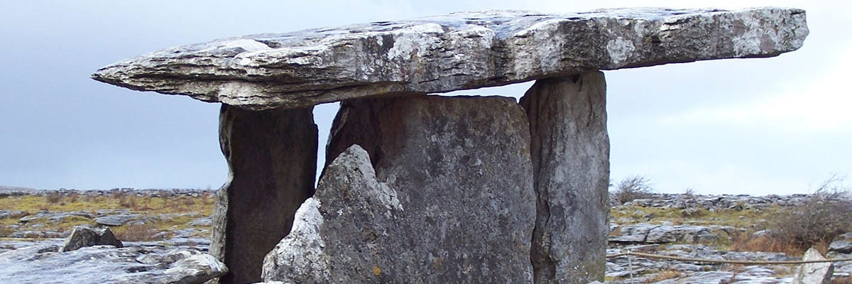 Poulnabrone Dolmen in the Burren